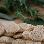 Biscoito Sem Glúten Salgado Sabor Ervas Finas - Foto: IC Fotografias